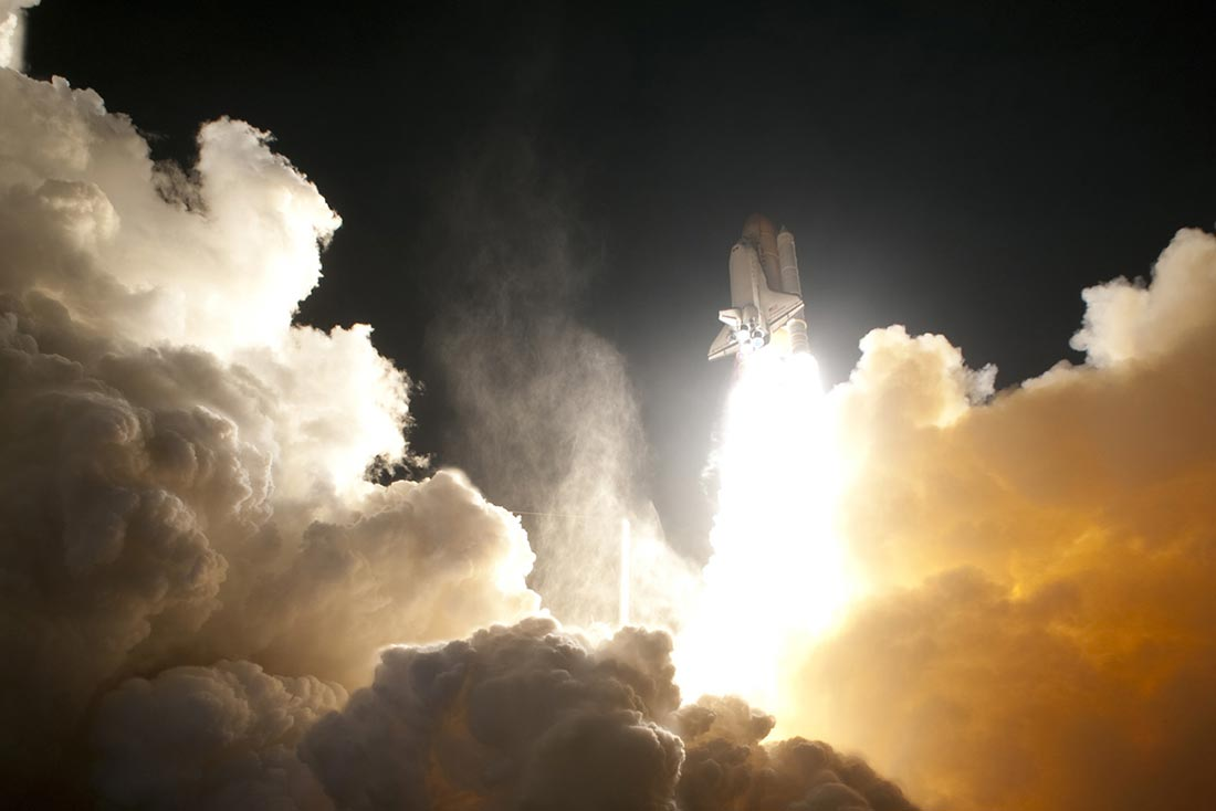 NASA Endeavour Launch